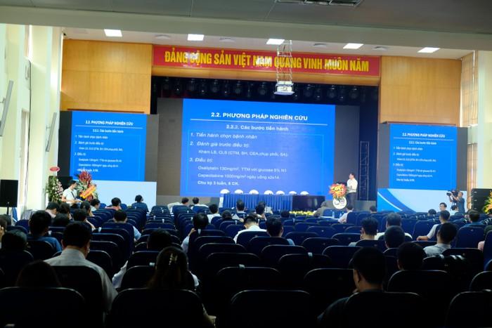 Hội thảo Quốc gia phòng chống ung thư lần thứ 19 được tổ chức tại viện K Tân Triều.