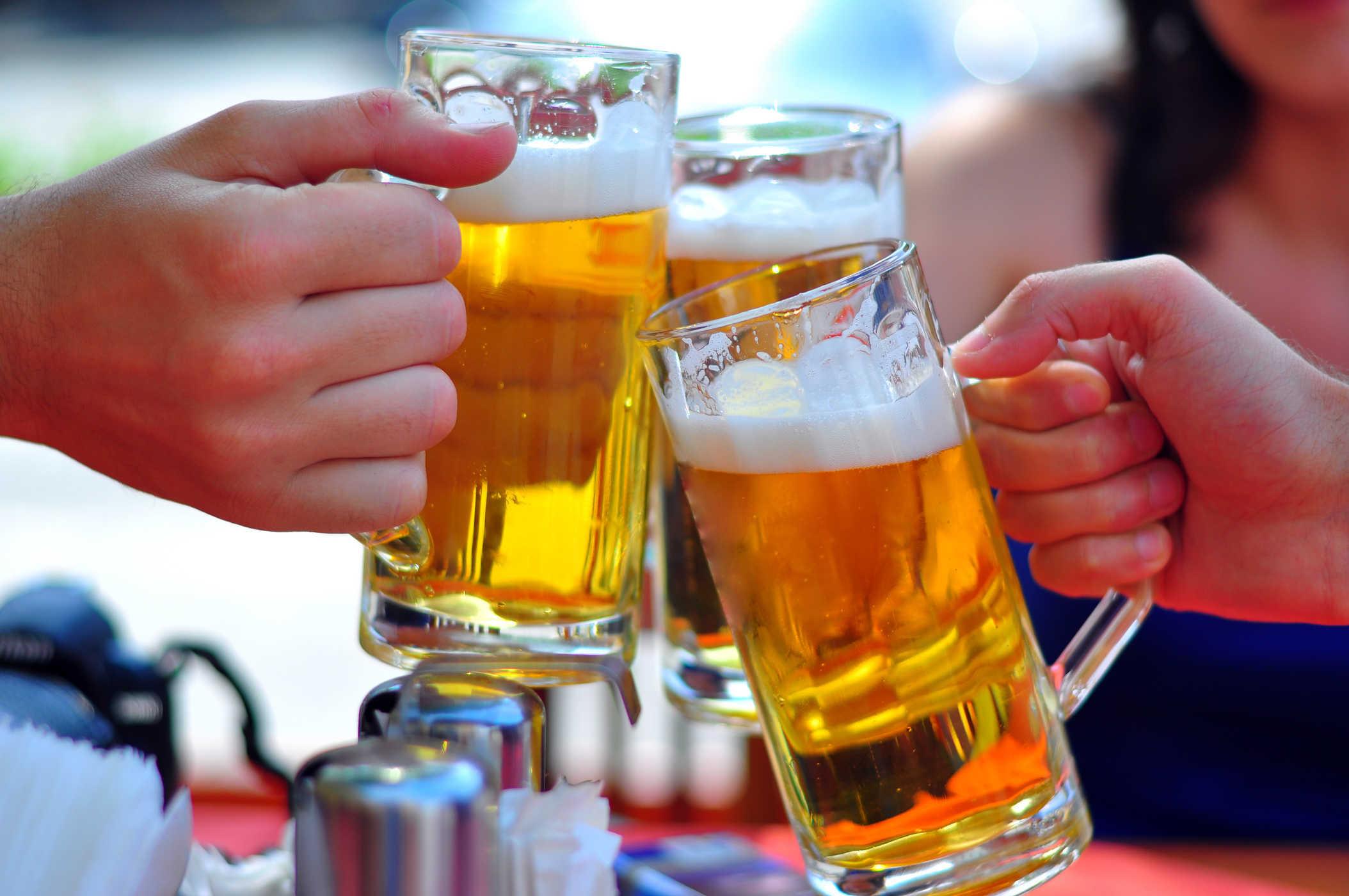 Rượu bia - nguyên nhân gây xơ gan