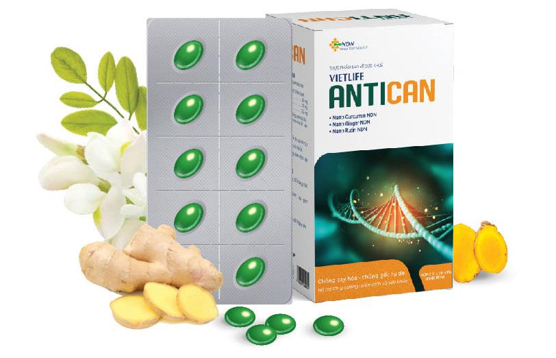 Vietlife Antican - Bí quyết sống khỏe cho bệnh nhân Ung bướu
