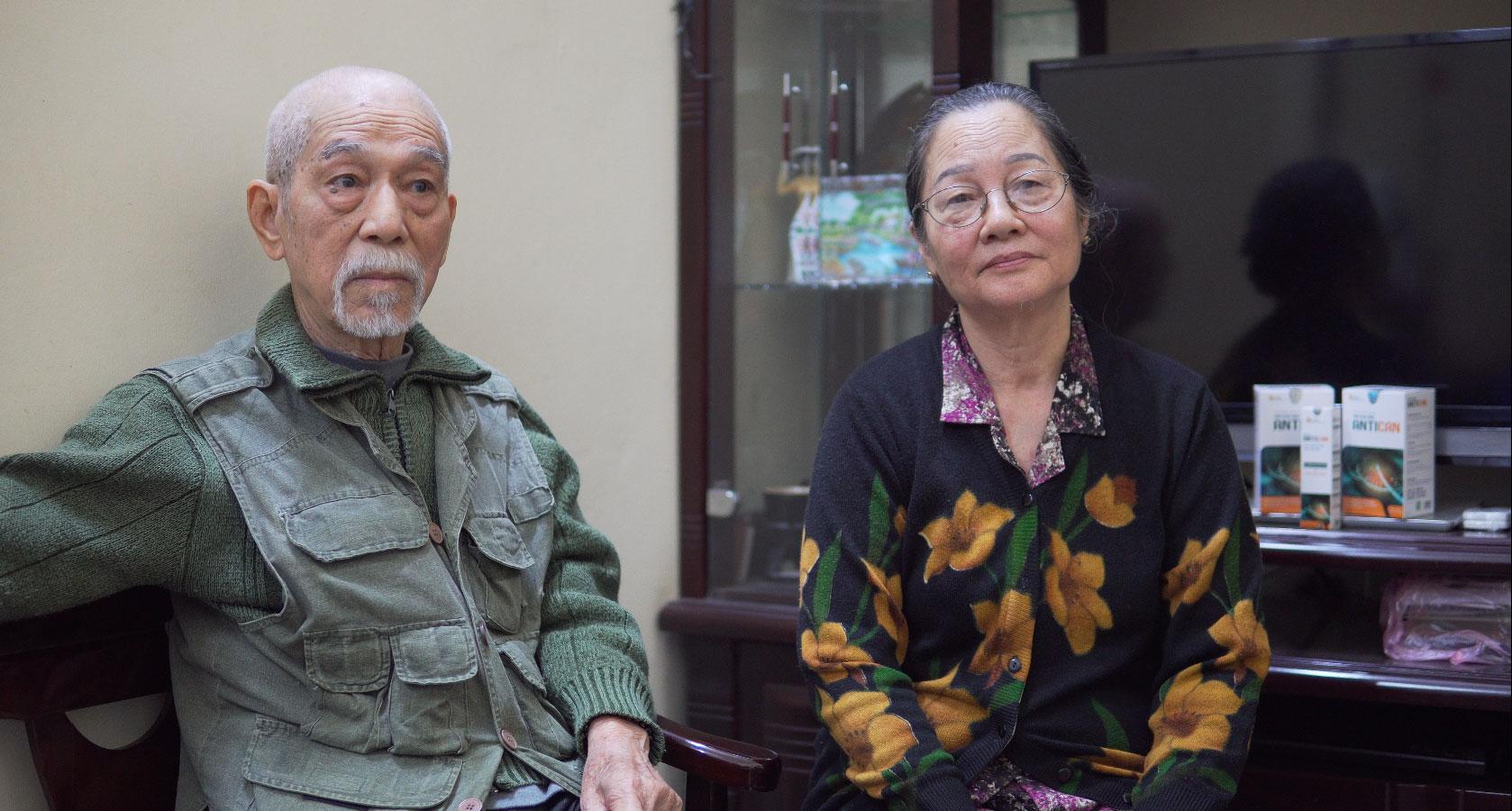 Vợ chồng nghệ sĩ Mai Ngọc Căn chia sẻ về tình trạng bệnh
