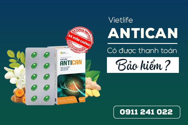 Antican, Antican có được thanh toán bảo hiểm
