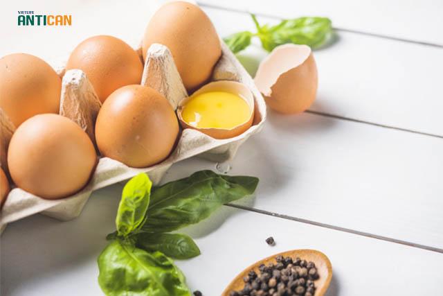 ung thư có nên ăn trứng uống sữa