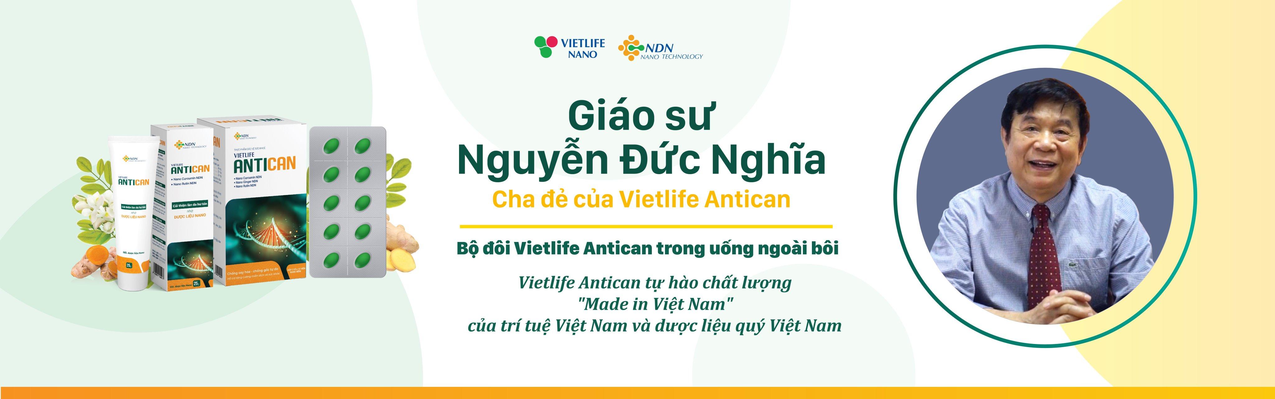 GS.TS.Nguyễn Đức Nghĩa, Nguyên Phó Viện trưởng viện Hóa học, viện Hàn lâm Khoa học và Công nghệ Việt Nam, Trưởng phòng nghiên cứu phát triển Vietlife Nano.