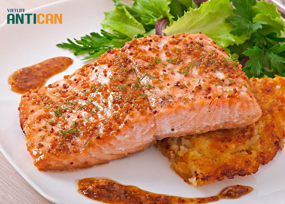 Cá hồi là thực phẩm rất tốt cho sức khỏe